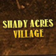 Shady Acres Village logo and website link in Seminary,MS