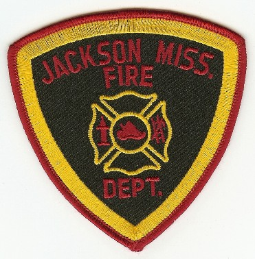 Jackson, MS Fire Department shoulder patch