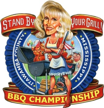 Stand by your Grill Tammy Wynette logo