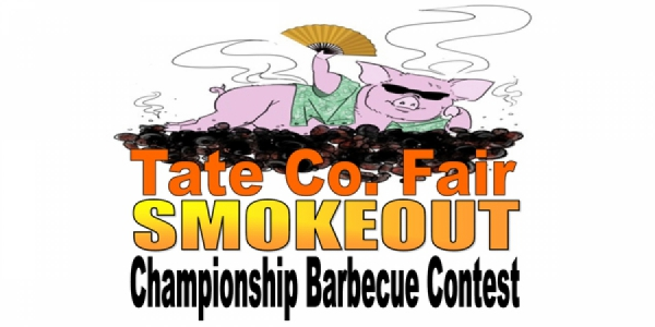 Tate County Fair Smokeout logo