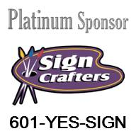 Sign Crafters Platinum Sponsor logo and website link in Brandon, MS