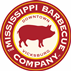 logo for the Mississippi BBQ Company in Vicksburg