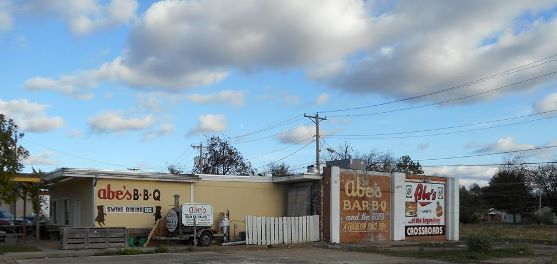 Abe's Bar-B-Q exterior in Clarksdale