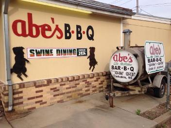 Abe's Bar-B-Q BBQ grill in Clarksdale