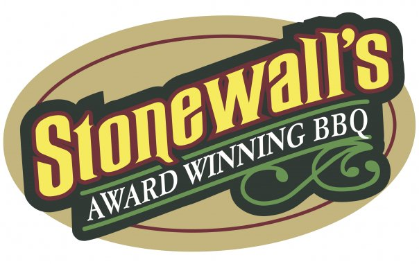 Stonewall's BBQ & Catering logo and website link in Picayune, Mississippi