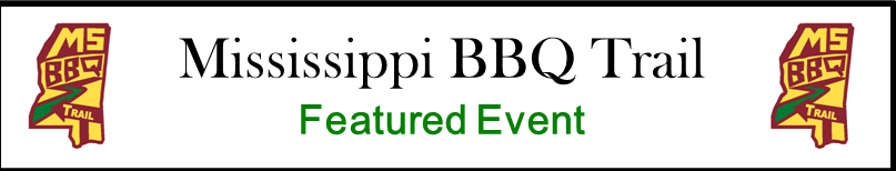 Mississippi BBQ Trail Featured Event logo banner