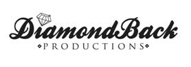 Diamond Back Productions banner and website link in Grenada, MS