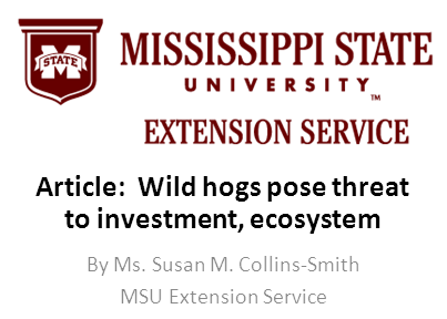 Mississippi State University Extension Service logo and link to article by Susan M. Collins-Smith 9-21-2017