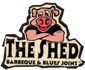 logo for The Shed Barbecue and Blues Joint in Ocean Springs